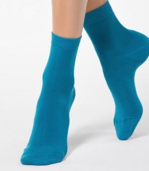 Носки женские CONTE ELEGANT CLASSIC, 7С-61СП, р.23, темно-синий